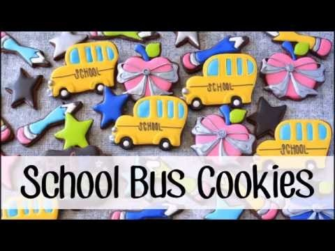 How to Make a Decorated School Bus Cookie