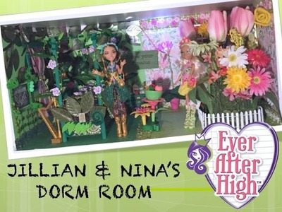 HOW TO MAKE A DORM ROOM FOR JILLIAN BEANSTALK & NINA THUMBELL [EVER AFTER HIGH]