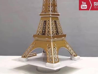 How To Make a Eiffel Tower Model in Paris France - DIY Eiffel Tower