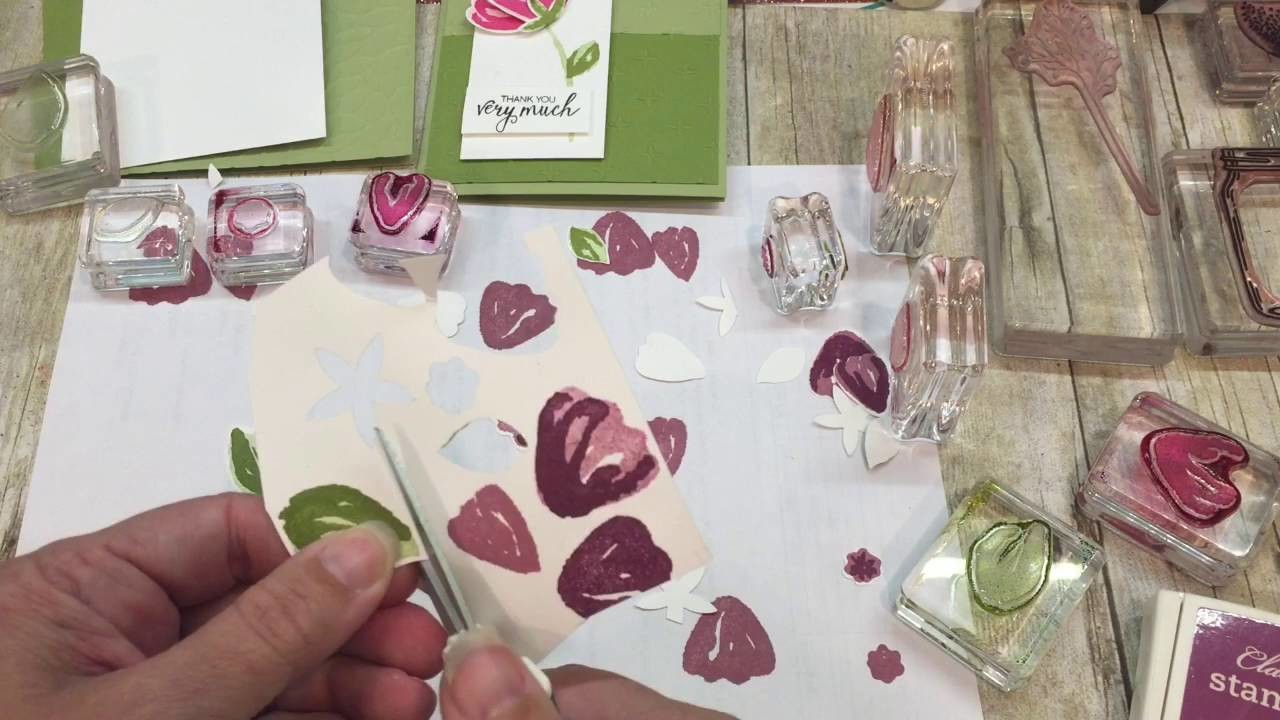 How to make a GORGEOUS Jar of Love card