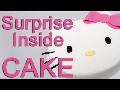 How To Make A Hello Kitty PINATA Cake!