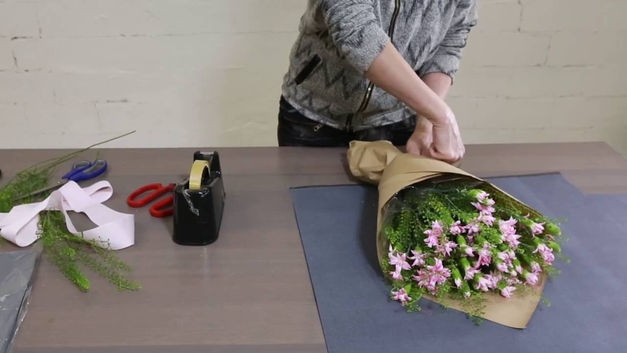 How to make a Japanese Carnation Bouquet