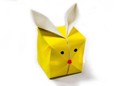How to make a paper balloon rabbit -.- Origami rabbit