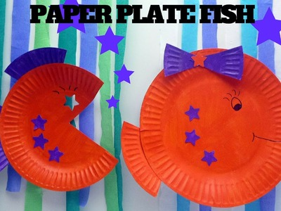 How to Make a Paper Plate Fish