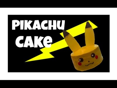 How to make a pikachu cake!