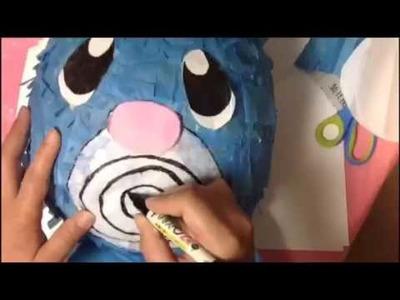 How to make a Pokemon piñata
