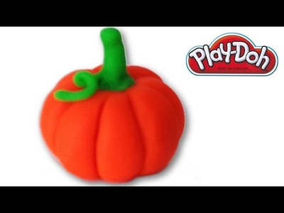 How to make a Pumpkin from Play-Doh