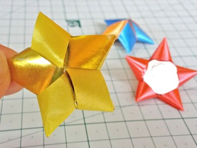 How to make a ribbon Star
