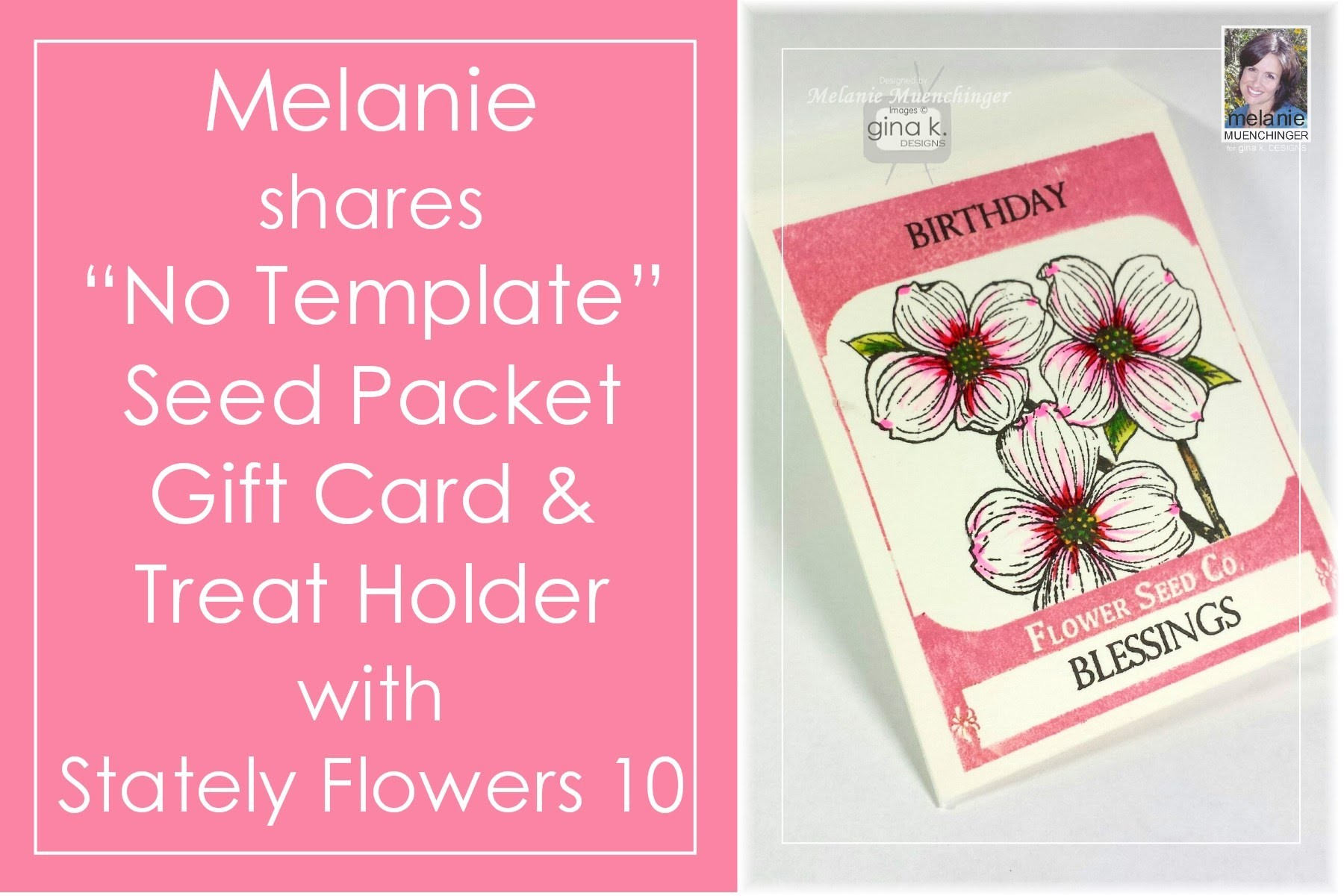 How to Make a Seed Packet Gift Card Holder-No Template Needed!