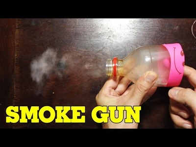 How to make a Smoke Gun - Easy and Simple