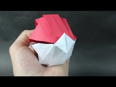 How To Make An Origami Poke Ball!