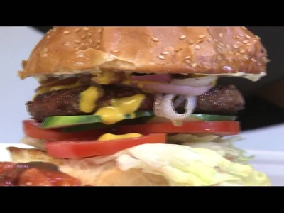 How to make Beef Burger with Chef Charles | Food Thursdays  (Season 3 Episode 6)