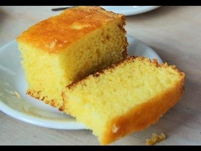 How to make cake in Pressure Cooker by madhurasrecipe | Eggless Sponge Cake
