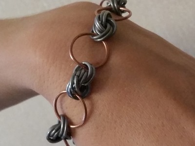How to make chain maille bracelet for woman?