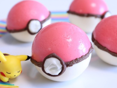 How to make Edible Poké Ball Pudding ~Pokémon GO