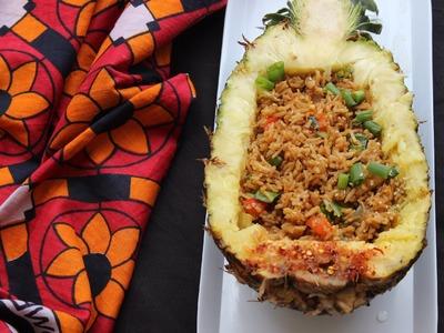How To Make Pineapple Fried Rice | Miss Mandi Throwdown