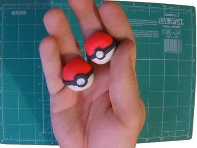 How to make: Pokeball plasticine