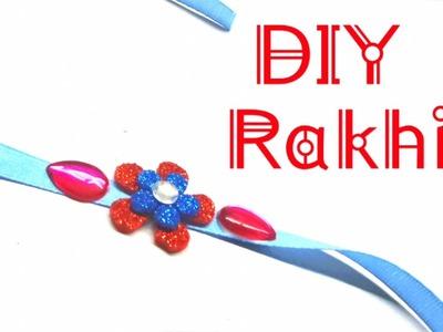 How to make Rakhi at home. DIY Rakhi making. Simple and Easy Rakhi Design. Rakhi Special.