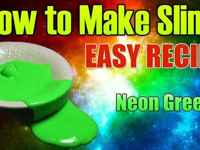 How To Make Slime | Easy Slime Recipe