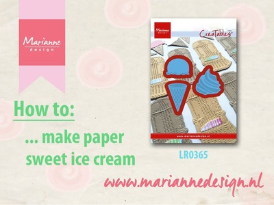 How to make yummy ice cream with the Creatable LR0365