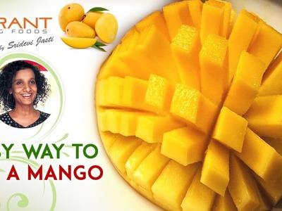 How to Peel and Cut a Mango   Easy Tips to Slice a Mango   Sridevi Jasti   Vibrant Living