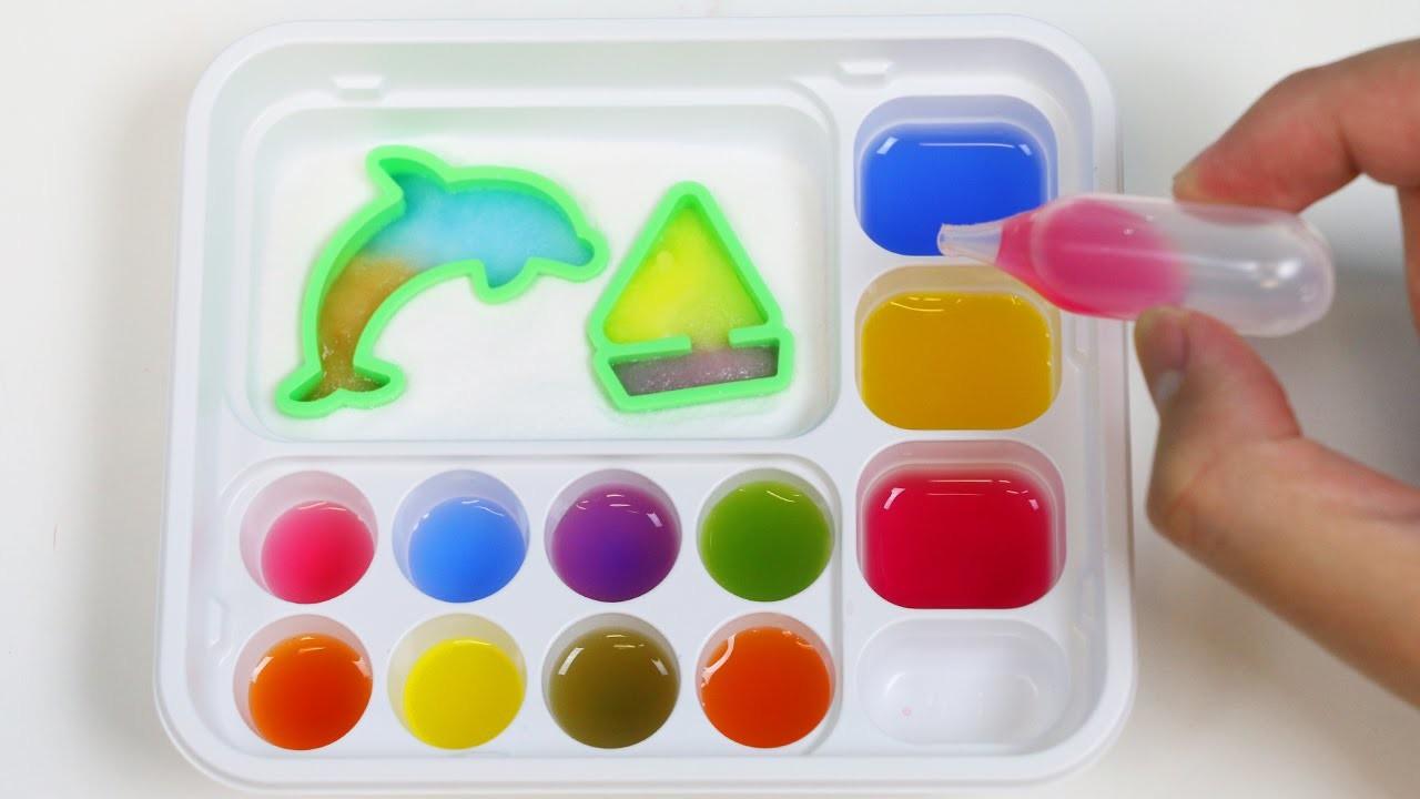 Kracie Oekaki GUMMY Land Japanese DIY Candy Making Kit Dolphin Whale Sail Boat Shapes!