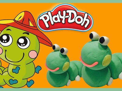 Learn How to Make Play-Doh Caterpillar | Cu Kids
