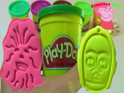 Massinha plastilina Star War video for kids | How to make massinha Play Doh telling a toy story