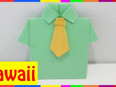 Origami Shirt - How To Fold Shirt ( Origami Hawaii )