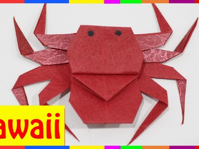Origami Spider - How To Fold Spider ( Origami Hawaii )