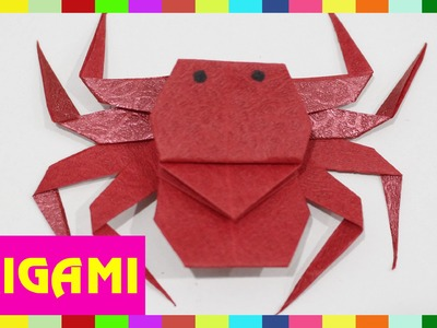 Origami Spider - How To Fold Spider  (Kasumi paper)