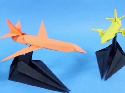 Paper Airplane.Origami stand