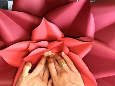 Paper flower tutorial by Candy Tree Baltimore
