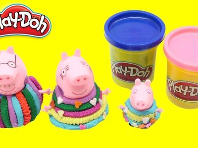 #Peppa Pig #Play Doh Videos Dress Up ! How to make a shirt peppa pig n2toys