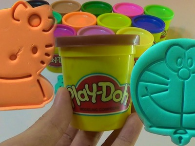Play Doh Collection 30 mins part 1 | How to make and play massinhas Play-doh toys homemade