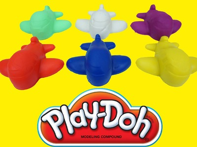 Play doh For Kids - How to make Play doh with plane and rabbit - Play doh Learn Colors For Childrens