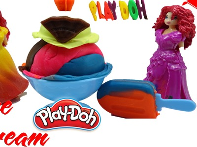 ►Play Doh Ice cream cupcakes playset playdough Fun Creative & How to Make Play Doh Ice Cream