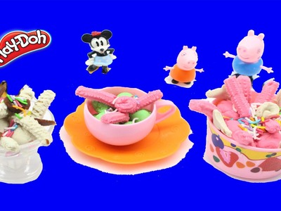 Play Doh Videos Hello Kitty Cake, How to make Playdough Sanrio Playdoh Toy by N2toys