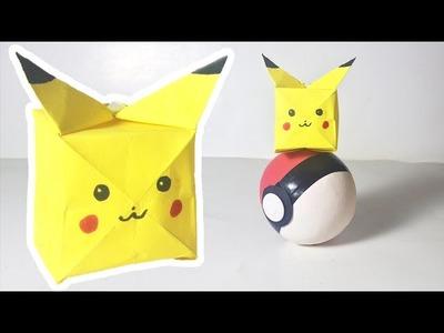 Pokemon GO - How to fold Pikachu Easy Origami