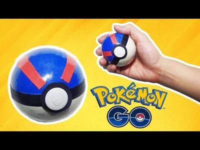 Pokémon GO - How to make a Pokeball (Great Ball) - tutorial