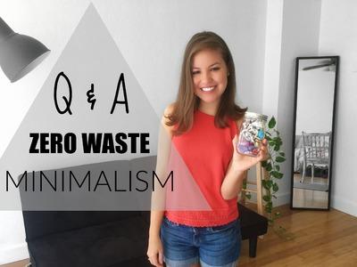 Q&A Zero Waste, Minimalism, Toliet Paper #askGGG