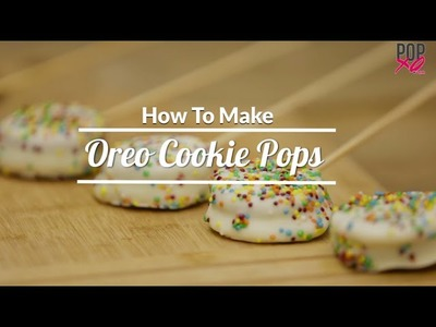#Tasty: How To Make Oreo Cookie Pops - POPxo