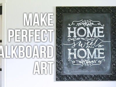 Tip Tuesday: How to Make Perfect Chalkboard Art
