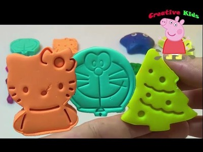 Video de massinha Play Doh Animals | Play and learn how to make homemade play doh