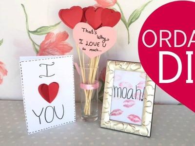3 DIY for Everyone you love! Boyfriend, BFF, Mom, Dad, Sister, Girlfriend & Room Decor! | ORDANI DIY