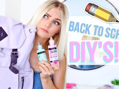 Back to School Pinterest DIY's TESTED! | Aspyn Ovard