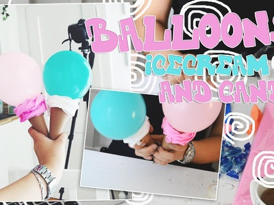 Birthday DIY Idea! Pinterest Inspired DIY With Balloons and Candy