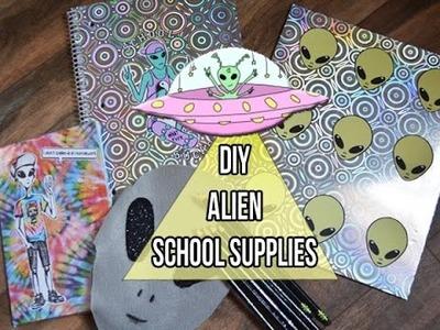 D.I.Y Alien School Supplies & Giveaway!