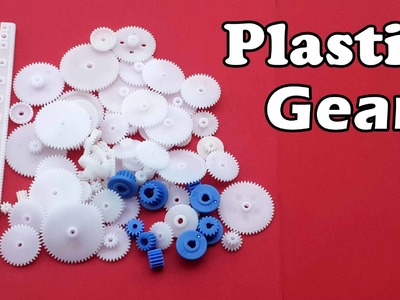 Different Types of Plastic Motor Gears for your DIY Projects - Banggood.com