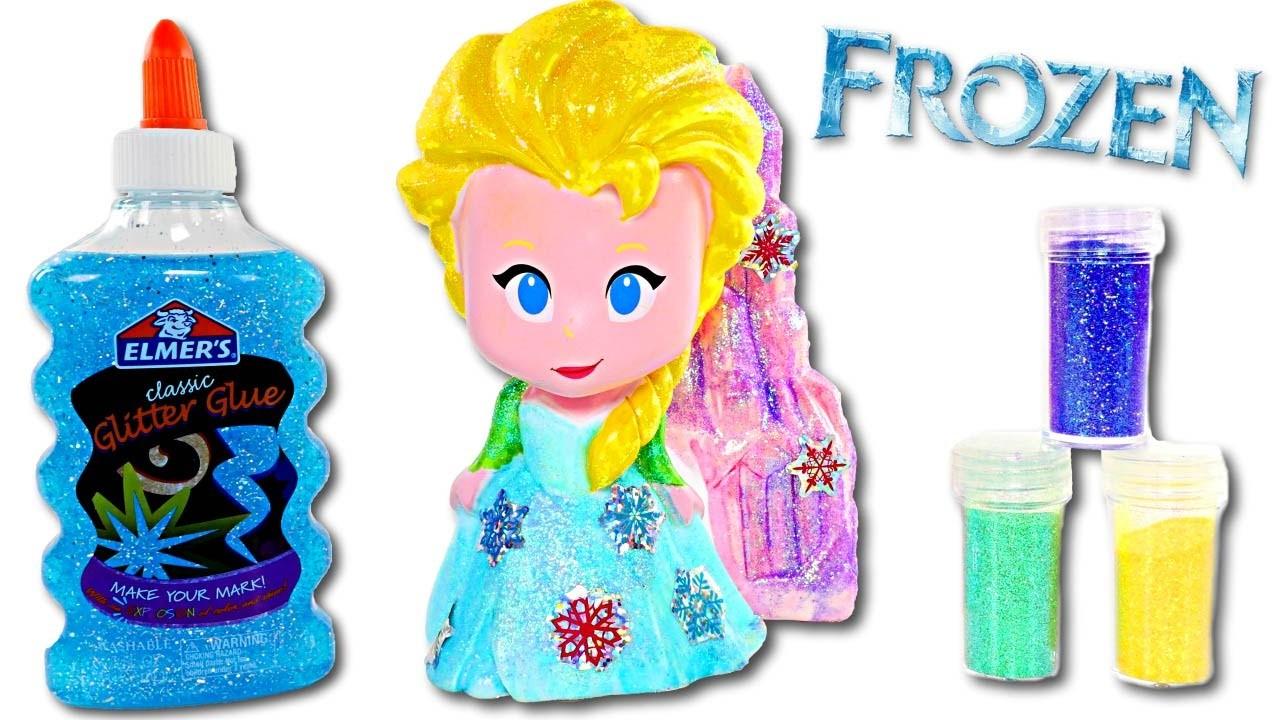 Disney Frozen Design a Vinyl Elsa Doll | Fun DIY Crafts for Kids with Amy Jo on DCTC
